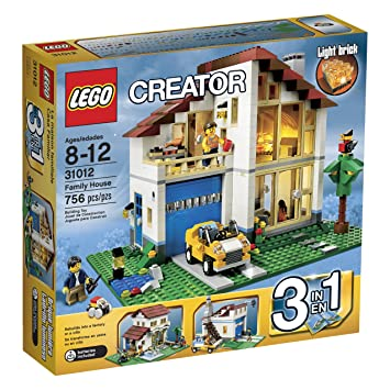 Amazon.com: LEGO Creator Family House (31012) (Discontinued by ...