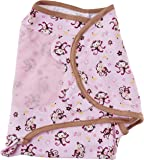Summer Infant SwaddleMe Adjustable Infant Wrap, Jungle Honeys, Small/Medium (Discontinued by Manufacturer)
