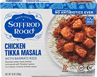 product image for Saffron Road, Entree Chicken Tikka Masala Basmati Rice, 10 Ounce