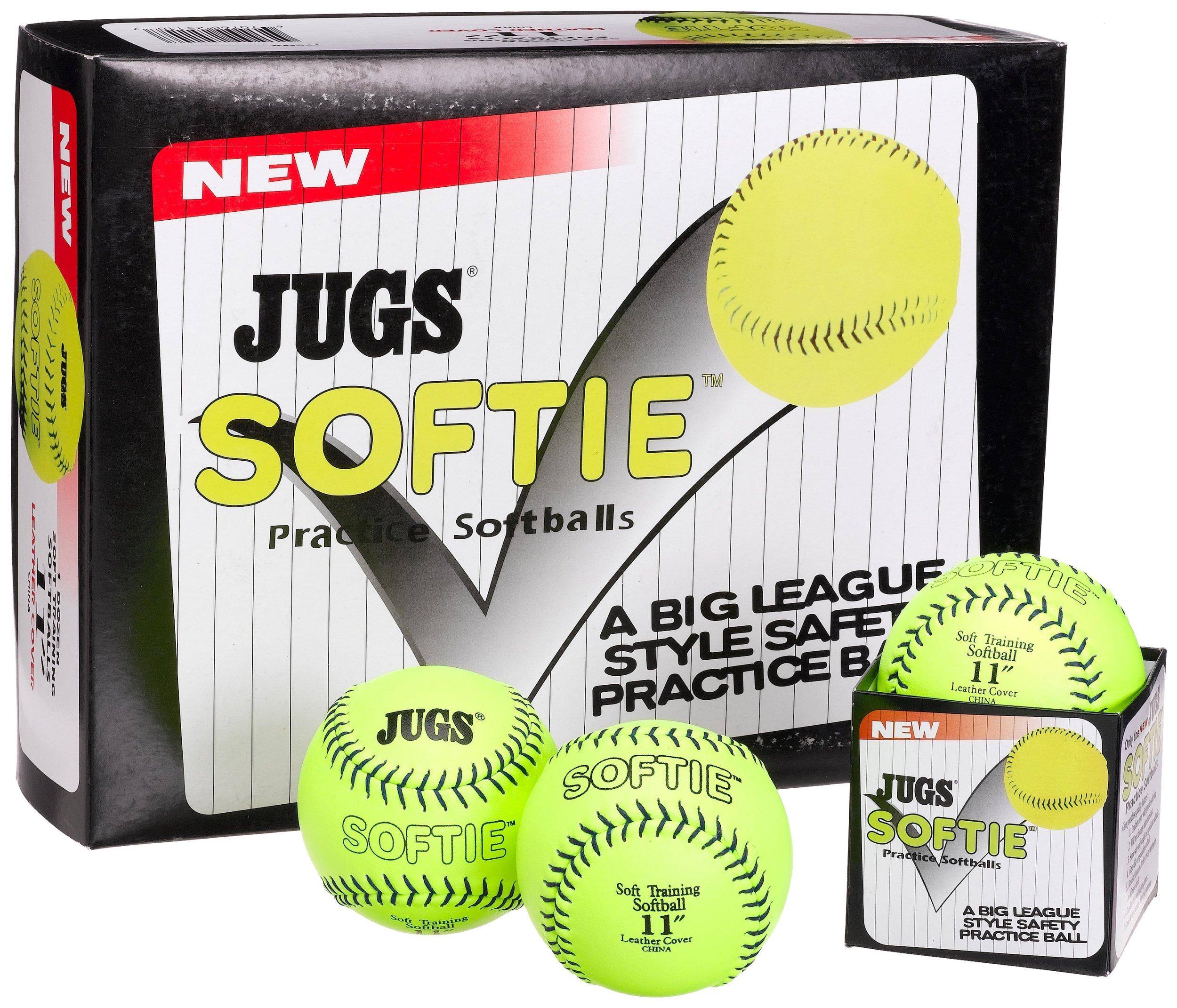 Amazon.com: Jugs Softie Practice Softballs: Sports & Outdoors