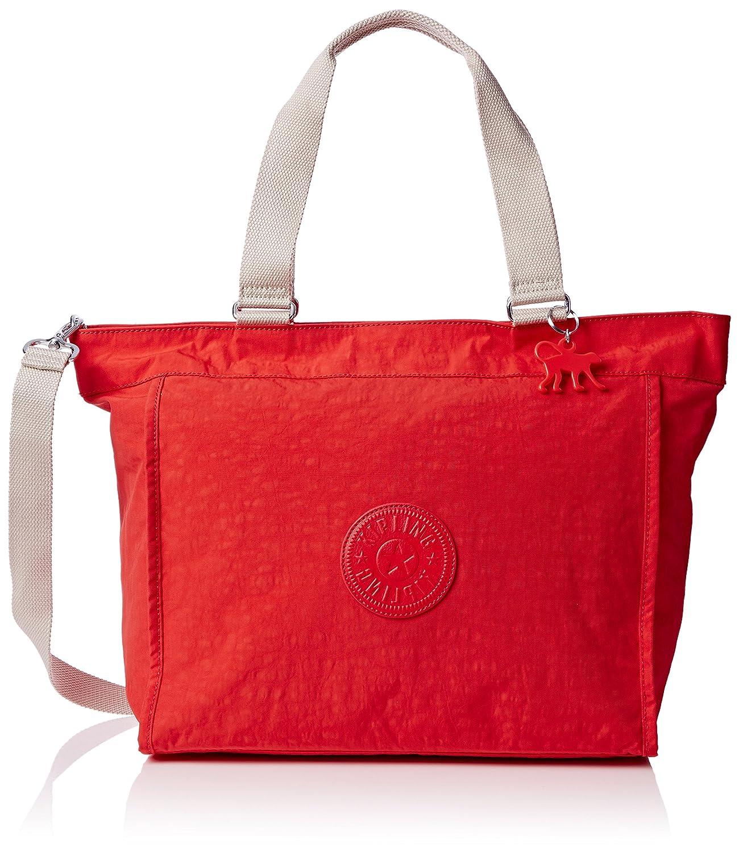 [キプリング] キプリング KIPLING Amazon公式 正規品 NEW SHOPPER L トートバッグ K16659 M13(fiesta animal) K16659 B01CZHMJ7C Coral Rose C Coral Rose C