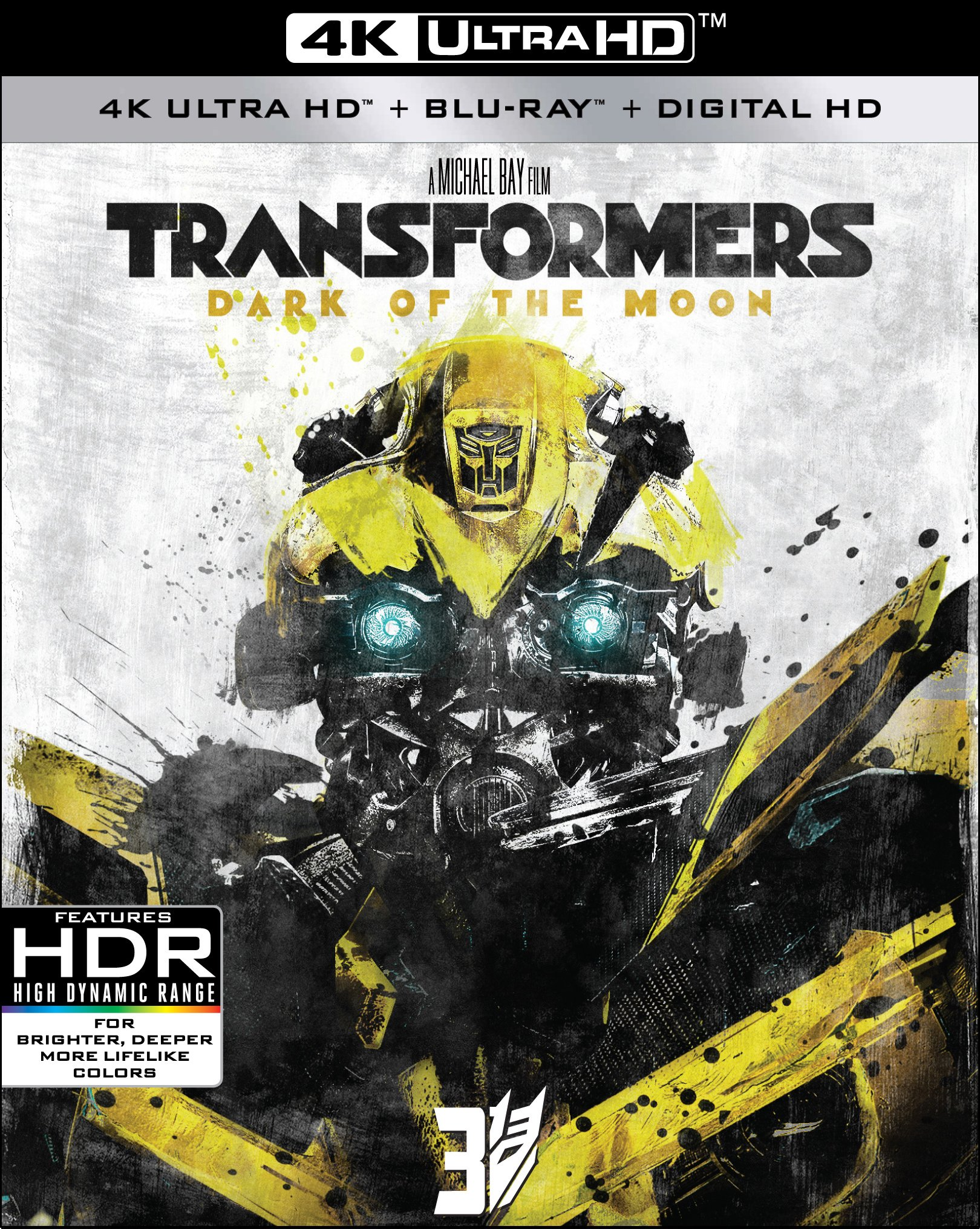 4K Blu-ray : Transformers: Dark Of The Moon (With Blu-Ray, 4K Mastering, Widescreen, Dubbed, )