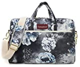 Canvaslove Grey Flower 15 inch Waterproof Laptop