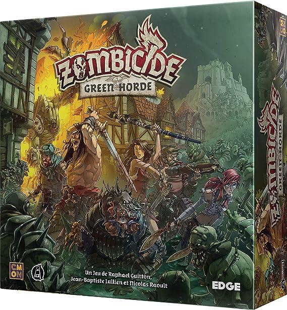 Asmodée - Zombicide Black Plague : Green Horde - 8435407619999 ...