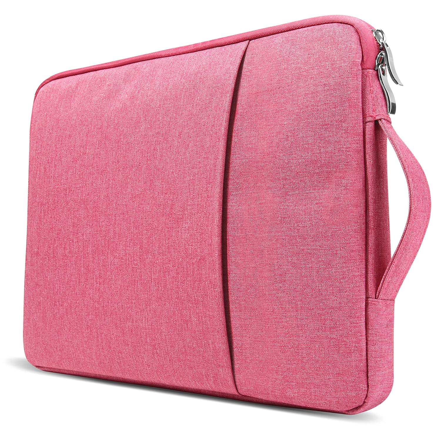 Pink 13-13.3 inch Water Repellent Laptop Sleeve with Handle MacBook Air 13 Inch Case Bundle Older Version Compatible A1369//A1466 2008-2017 Release NO Touch ID GMYLE Soft-Touch Frosted Hard Shell