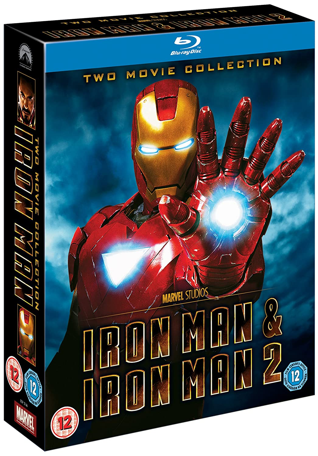 Iron Man 1 & 2 Double Pack Edizione: Regno Unito Reino Unido Blu-ray: Amazon.es: Movie, Film [Downey Jr.]: Cine y Series TV