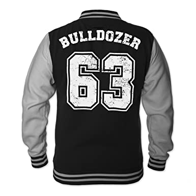 82e0dd065dd Bud Spencer Herren Bulldozer 63 College Jacket (schwarz)  Amazon.de ...