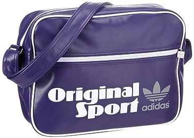 adidas Originals Z21048, Sacs portés main mixte adulte - Violet - Violett (COLLPURPL/WH), 38x28x12 cm (B x H x T)