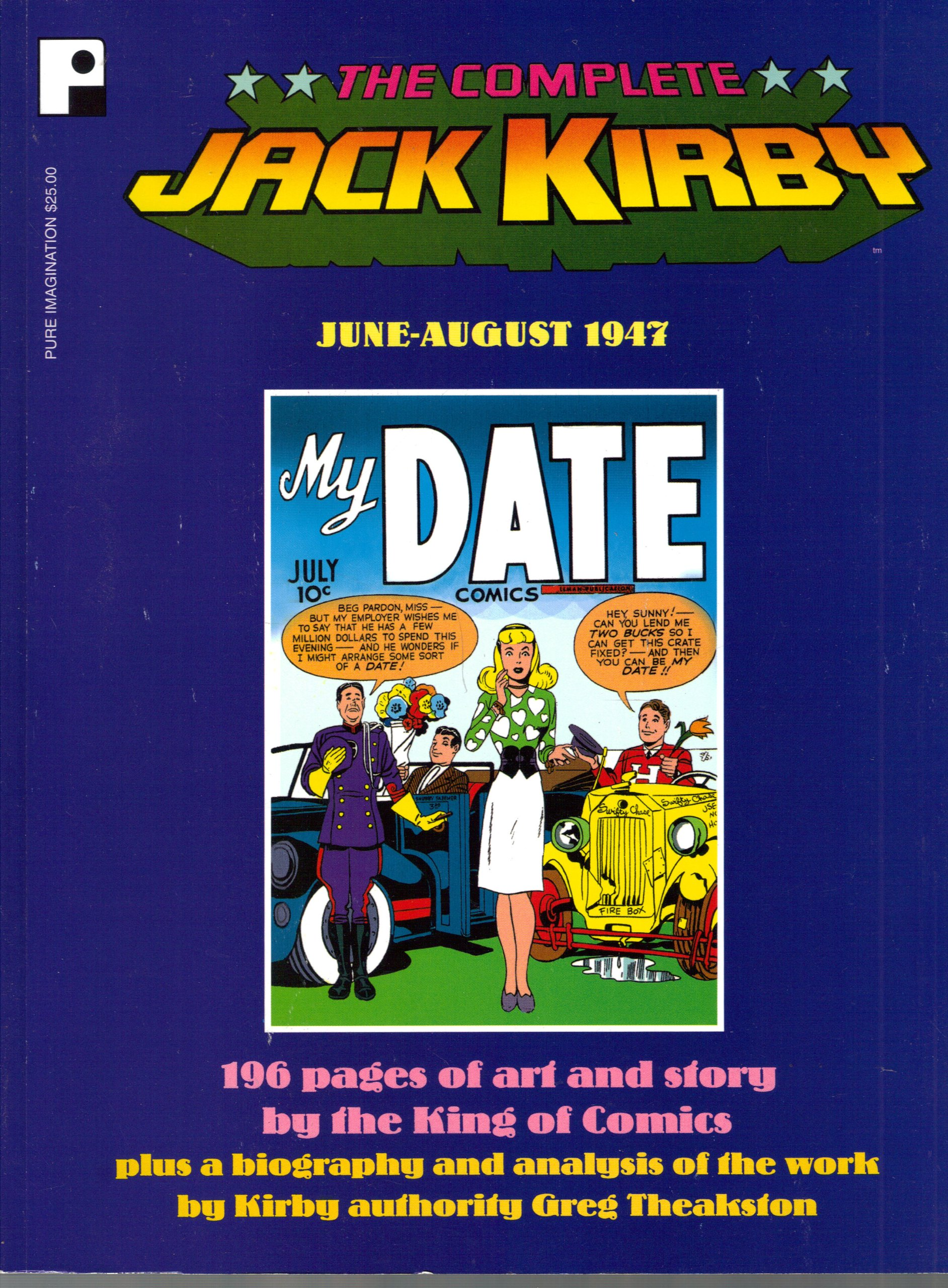 Download The complete Jack Kirby, June-August 1947 ebook