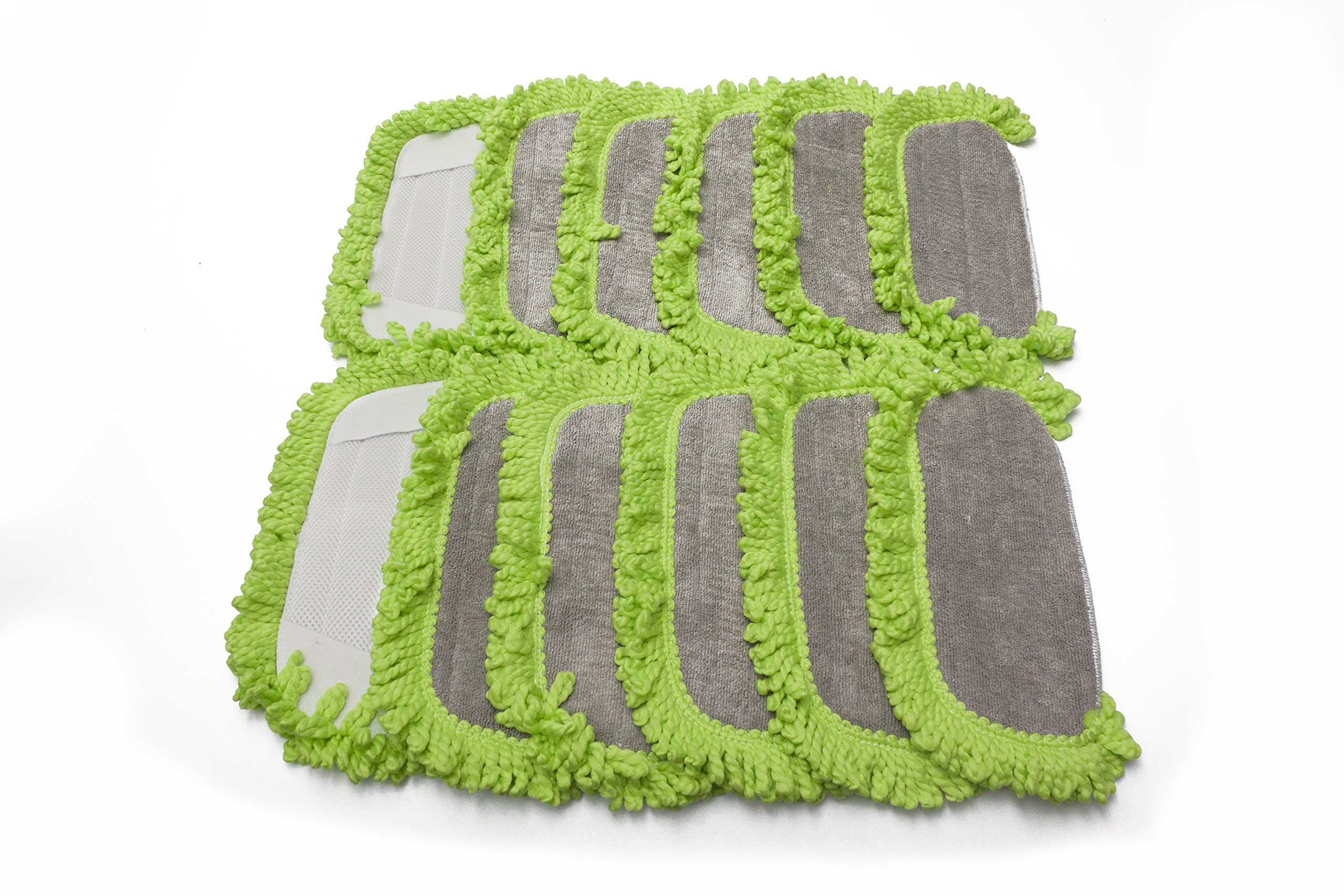 LTWHOME Washable Microfiber Replacement Pads Fit for Dirt Devil Vac, Compare to Part AD51005 (Pack of 12) by LTWHOME (Image #7)