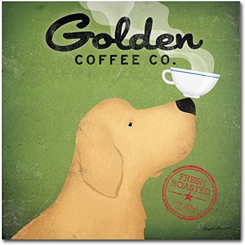 Gold Ornate Frameen Coffee Co