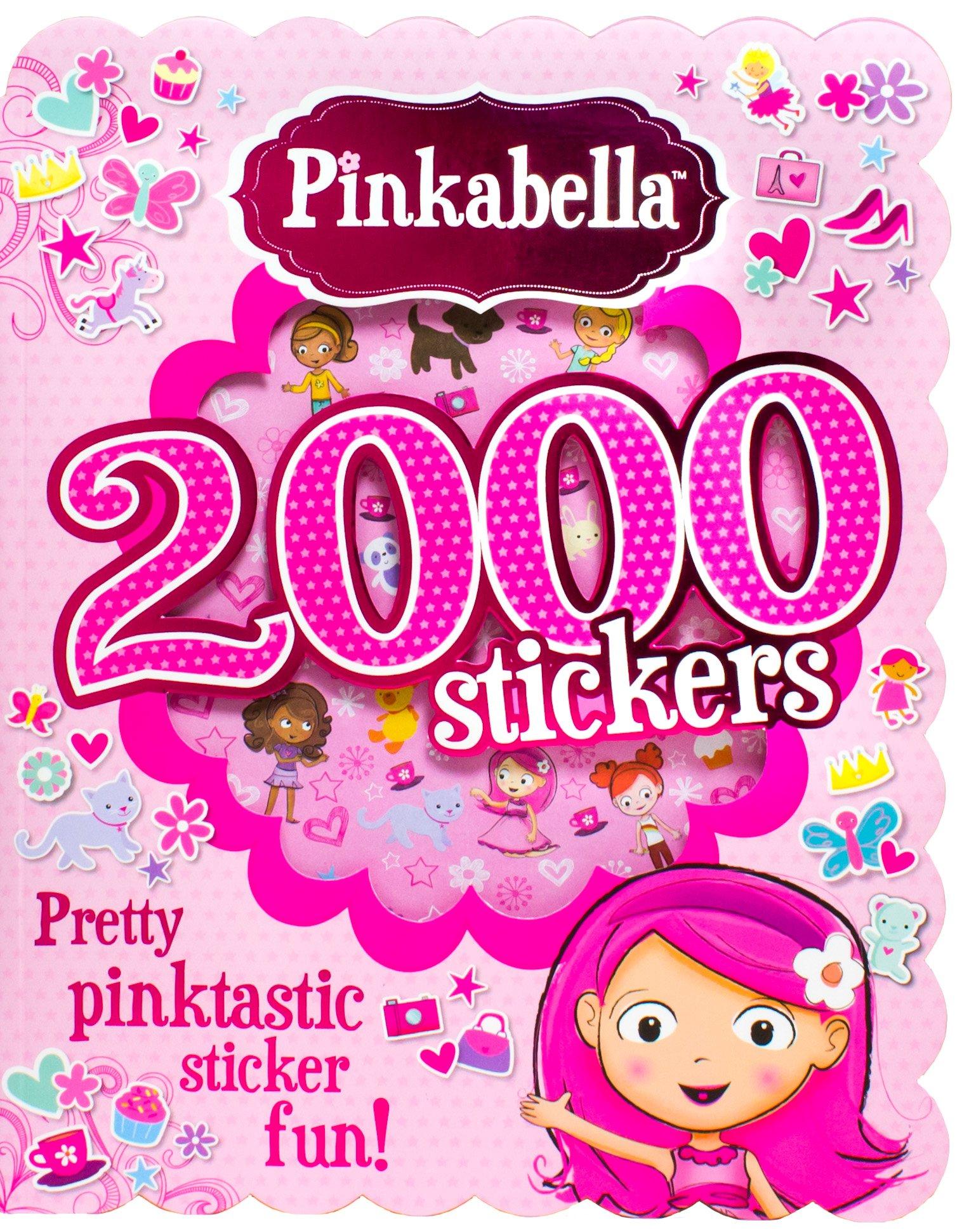 Read Online Pinkabella 2000 Stickers pdf epub