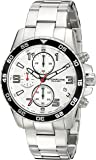 Stuhrling Original Men's 985.01 Concorso Quartz Chronograph Stainless Steel Link Bracelet Watch