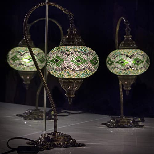 Turkish Lamp Tiffany Style Table Lamp