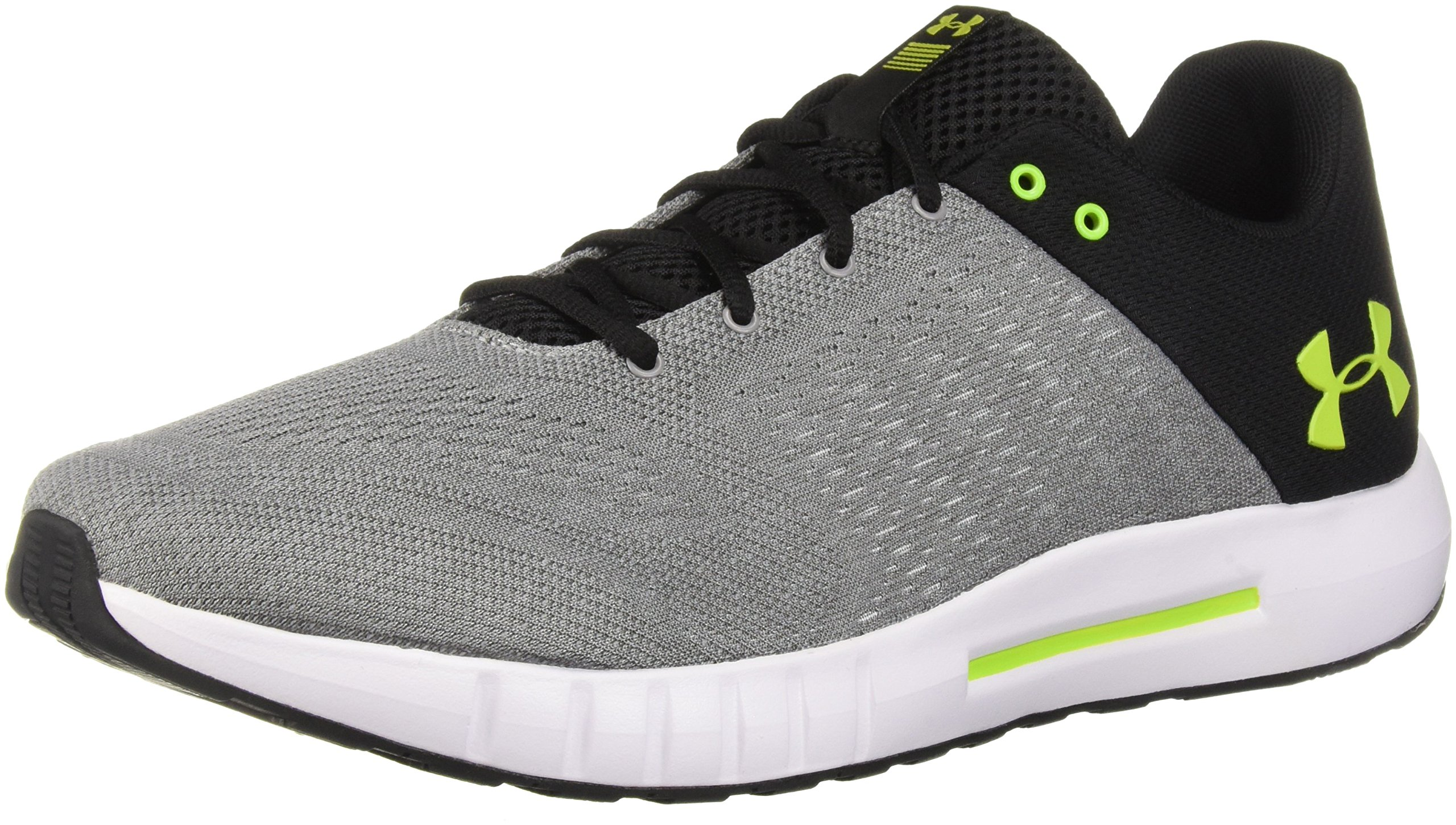 Under Armour Men's Micro G Pursuit-Wide, Steel (101)/Rhino Gray, 7.5 by Under Armour