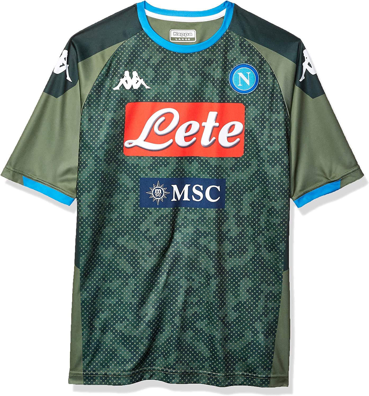 Amazon Com Ssc Napoli Italian Serie A Mens Replica Away Match Shirt 2019 2020 Clothing