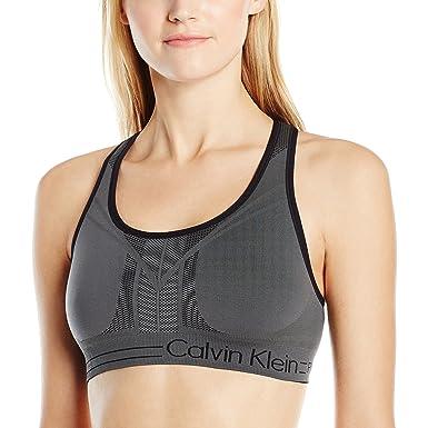 7552d02ab0 Calvin Klein Performance Women s Reversible Keyhole Back Seamless ...