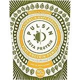 Pulsin' Unflavoured Soya Protein Powder 1kg   90% Protein  Natural   Gluten Free   Vegan