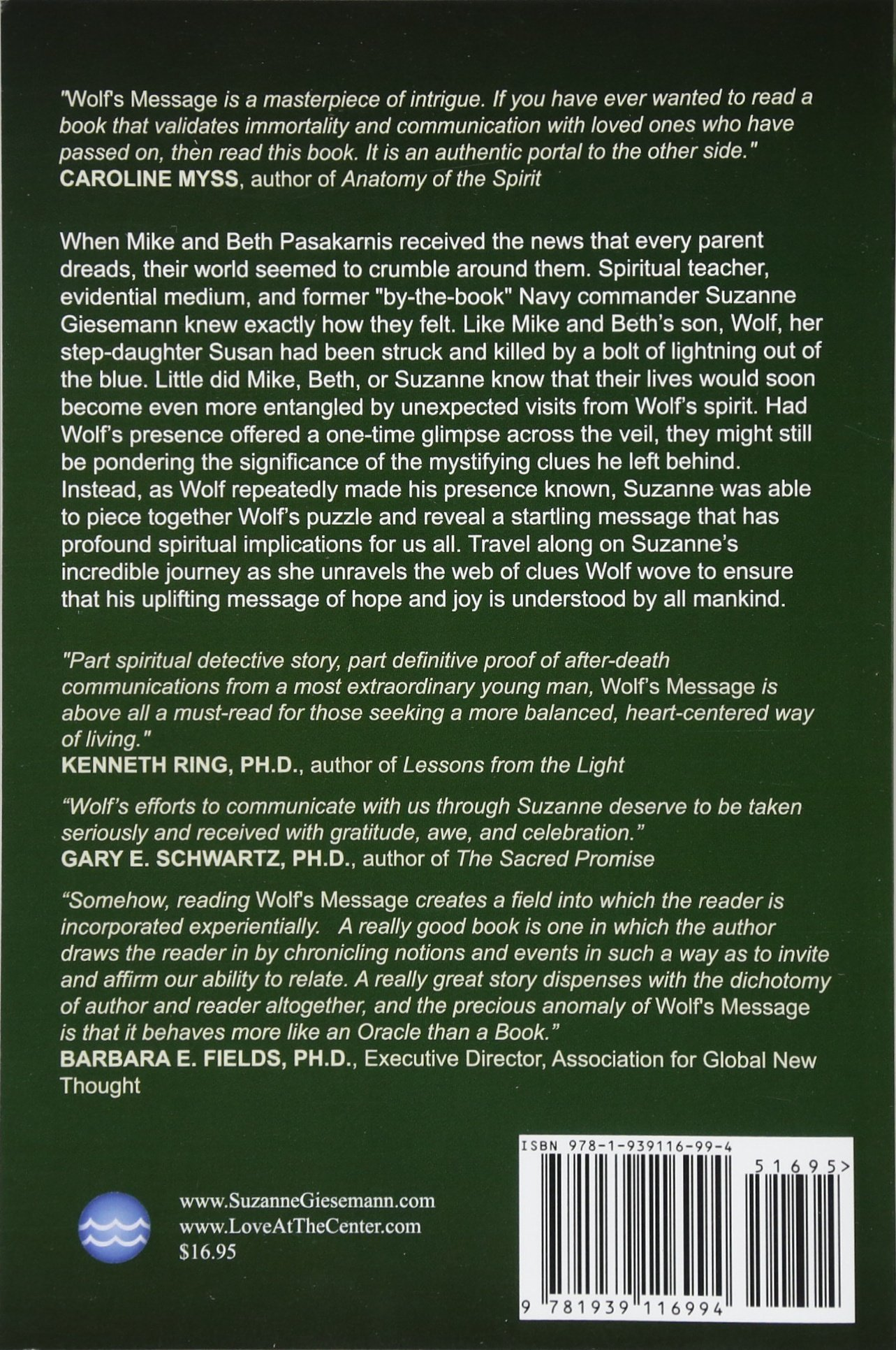 Wolf\'s Message: Suzanne Giesemann: 9781939116994: Amazon.com: Books