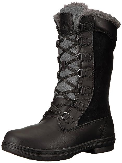 Amazon.com: Kodiak glata de la mujer botas de nieve: Shoes