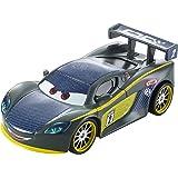 Disney Cars 2 - Coche carbon Lewis Hamilton (Mattel DHM81)