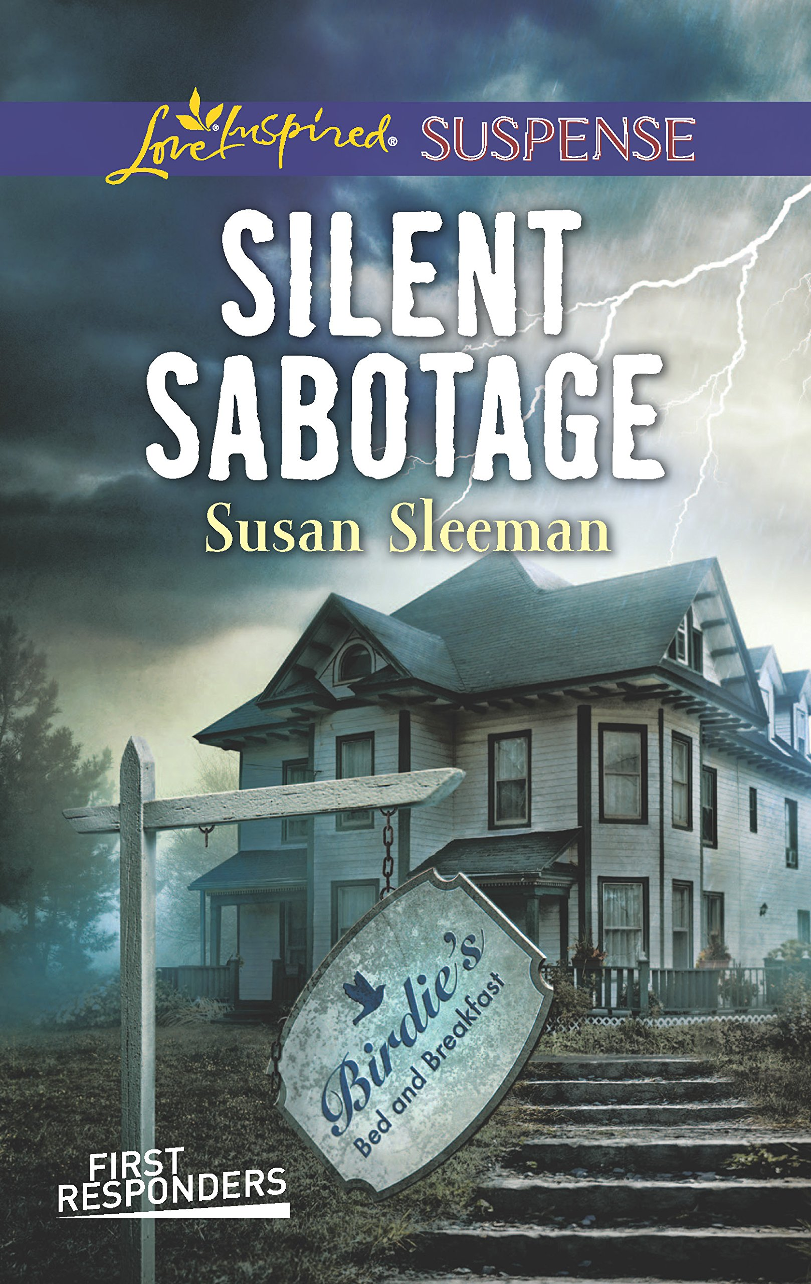 Silent Sabotage (Love Inspired Suspense): Amazon.co.uk: Susan Sleeman:  9780373447596: Books