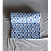 The Home Story, 100% Cotton Malmal, Single Dohar/AC Quilt, Reversible