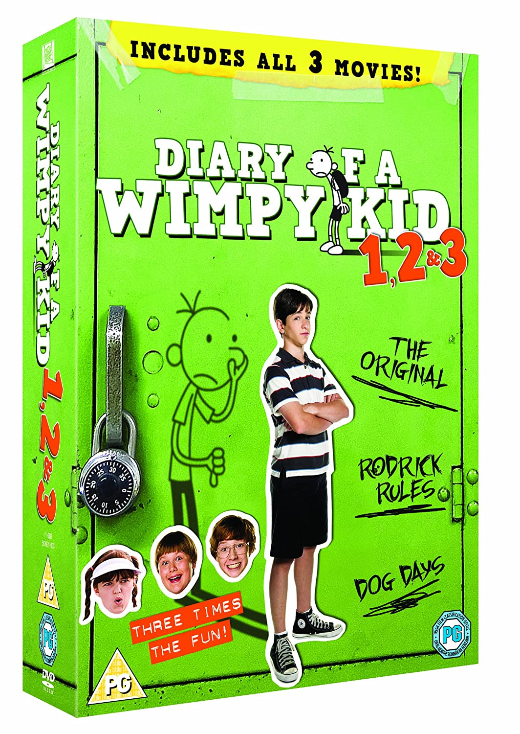 Diary of a wimpy kid 1 3 dvd 2010 amazon zachary gordon diary of a wimpy kid 1 3 dvd 2010 amazon zachary gordon devon bostick steve zahn rachael harris robert capron david bowers dvd blu ray solutioingenieria Images