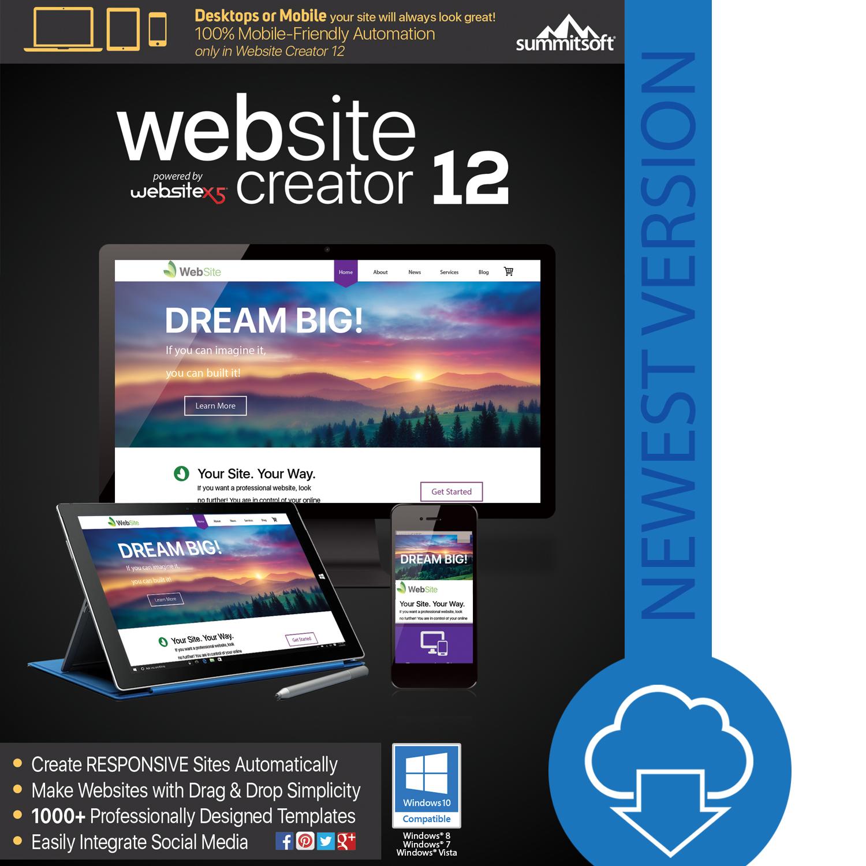 Website Creator 12 [Download]