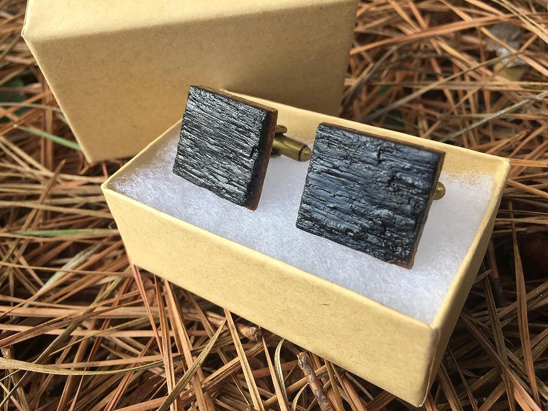 Jack Daniels(R) Whiskey Barrel Cufflinks - Groomsmen gift, Wedding Gift, 5th Anniversary Gift