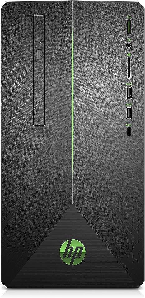 Hp Pavilion Gaming Desktop Computer Amd Ryzen 3 2200g Amd Radeon Rx 550 8gb Ram 1tb Hard Drive Windows 10 690 0010 Black
