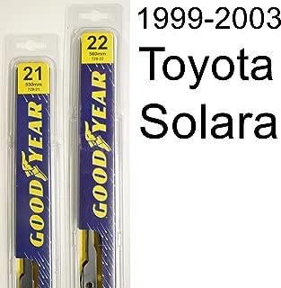"product image for Toyota Solara (1999-2003) Wiper Blade Kit - Set Includes 22"" (Driver Side), 21"" (Passenger Side) (2 Blades Total)"