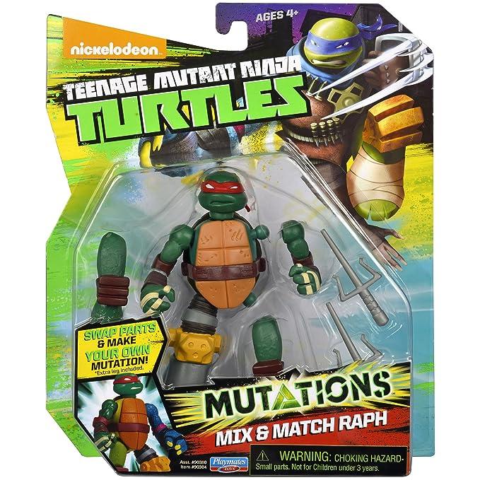 Teenage Mutant Ninja Turtles Mix & Match Raphael Figure ...