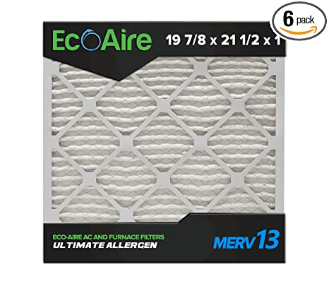 Amazon.com: eco-aire 19 7/8 X 21 1/2 X 1 Merv 13, Pleated ...