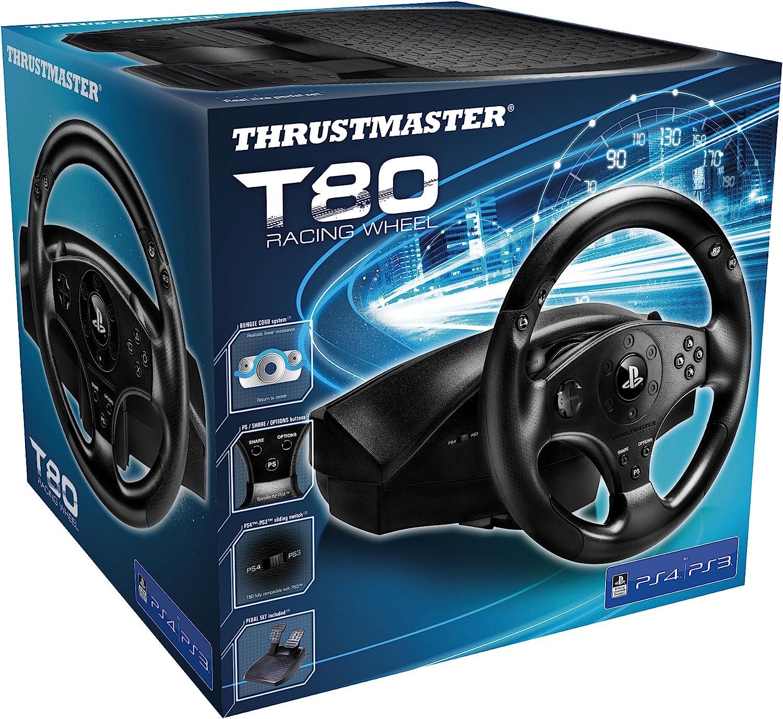 Thrustmaster T80 Racing Wheel (Volante PS4/PS3: Thrustmaster: Amazon.es: Electrónica