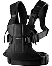 BABYBJÖRN Baby Carrier One, Cotton Mix, Black, 2018 Edition
