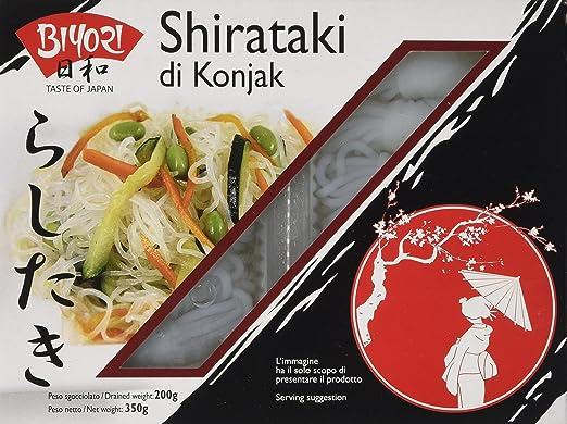19 opinioni per Biyori Noodle di Konjac, Shirataki- 350 gr