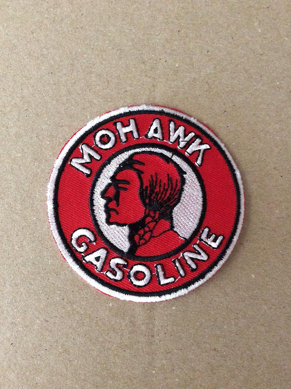 7,5 CM Mohawk Gasoline BLUE HAWAI ECUSSON Patches AUFNAHER Toppa THERMOCOLLANT