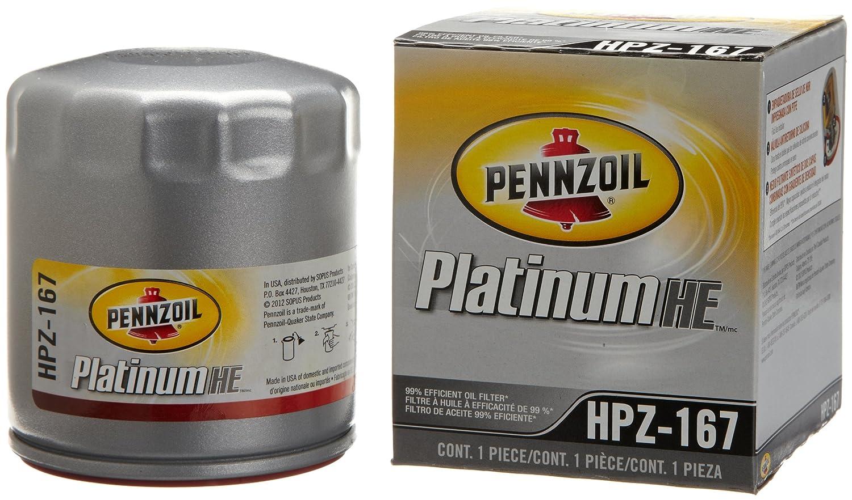 Pennzoil HPZ-167 Platinum Spin-on Oil Filter