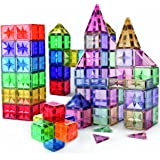 Star Design Magnetic Tiles for Kids, Educational 3D Magnet Building Blocks Set, STEM Preschool Toys for Children Creative Toy