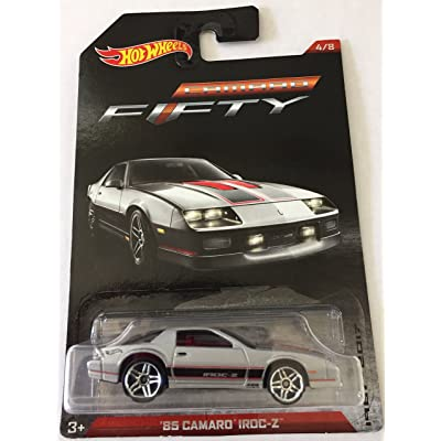 HOT WHEELS 1985 IROC-Z CAMARO EXCLUSIVE SILVER EDITION, HOT WHEELS '85 SILVER CAMARO: Toys & Games