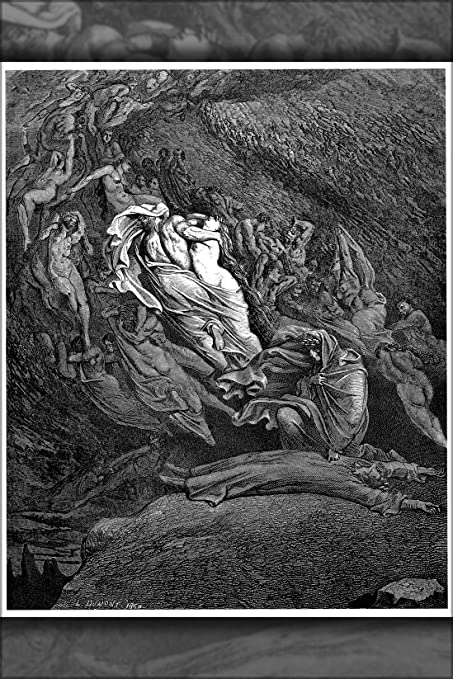 24x36 Poster Gustave Dore Illustration To Dante S Inferno Divine Comedy