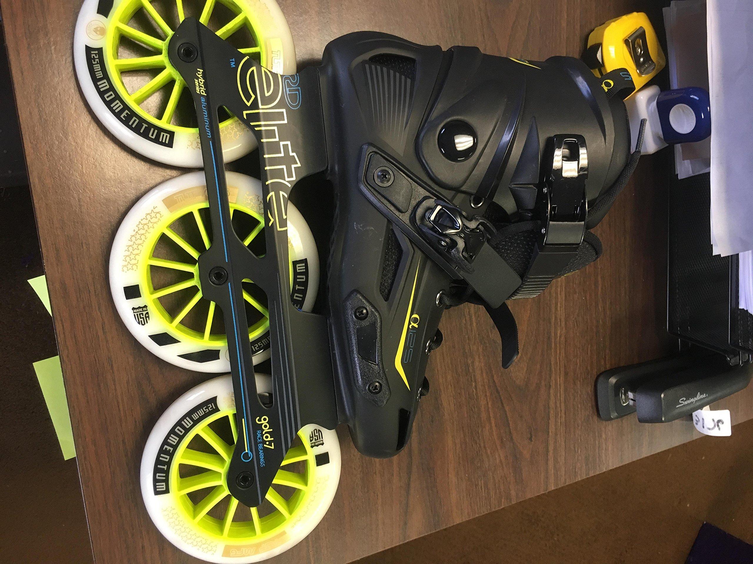 Roller Derby Elite Alpha 125mm 3-Wheel Inline Skate, 06