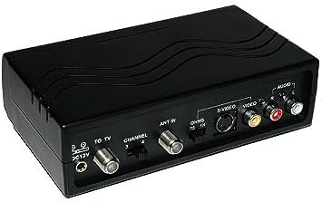 Dynex WS-007 – Modulador de RF RCA/S-Video a coaxial conversor