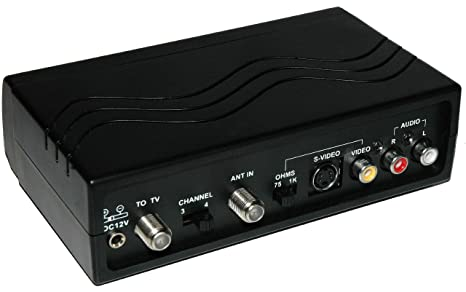 Dynex WS-007 - RF Modulator RCA/S-Video to Coax Video Converter