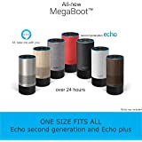 All-new MegaBoot (WORKS WITH ECHO 2nd GENERATION AND ECHO PLUS) | With over 24 HOURS of battery life| Battery Base | Alexa