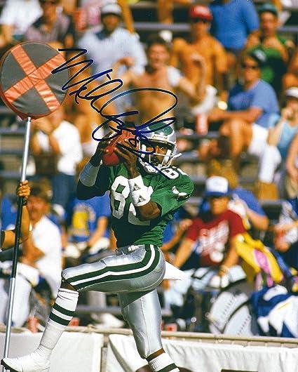 sale retailer 5d3fb b2b3d Autographed Mike Quick 8x10 Philadelphia Eagles Photo at ...
