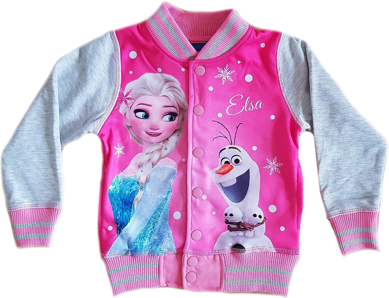 Die Eiskönigin Anna /& Elsa Sweatjacke 104 110 116 122 128 134 Disney Frozen
