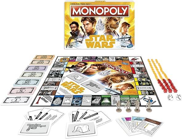 Monopoly – Star Wars Han Solo, E1702: Amazon.es: Juguetes y juegos