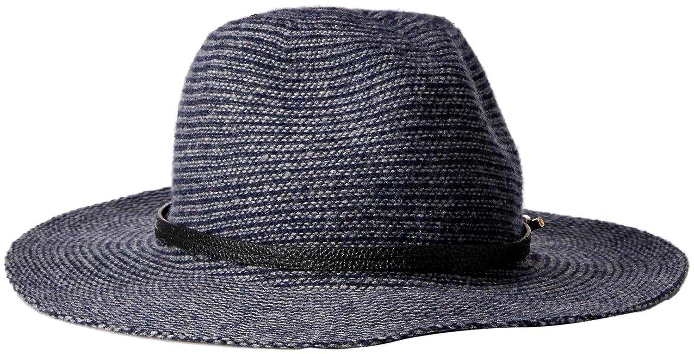 Vince Camuto Women s Heathered Panama Hat Logo Band c4081b726b9b
